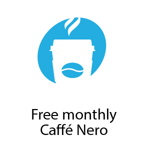 Free Monthly Cafe Nero