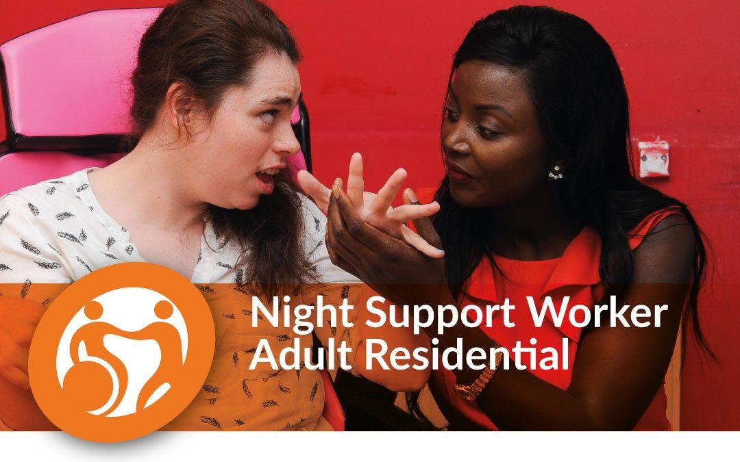 Night Support Worker | Tiptree