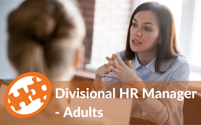 Divisional HR Manager – Adults | Wolverhampton